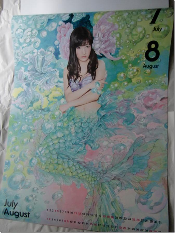 Watanabe Mayu 2015 Wall Calendar (5)