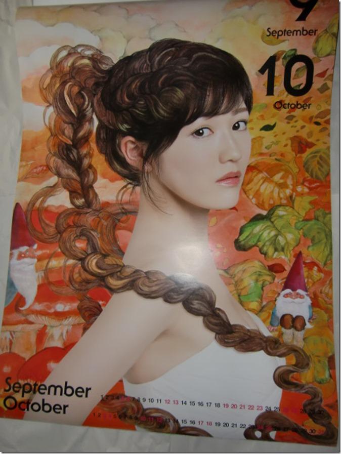Watanabe Mayu 2015 Wall Calendar (6)