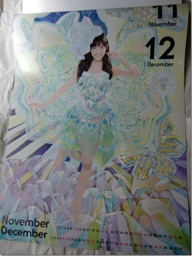 Watanabe Mayu 2015 Wall Calendar (7)