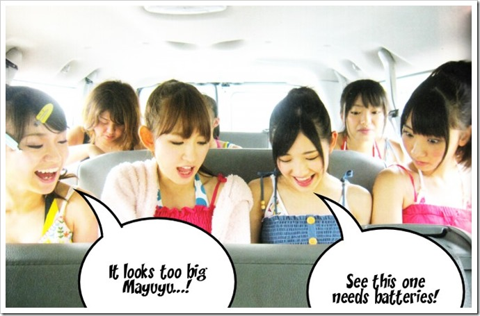 Mayuyu's new toy =P!