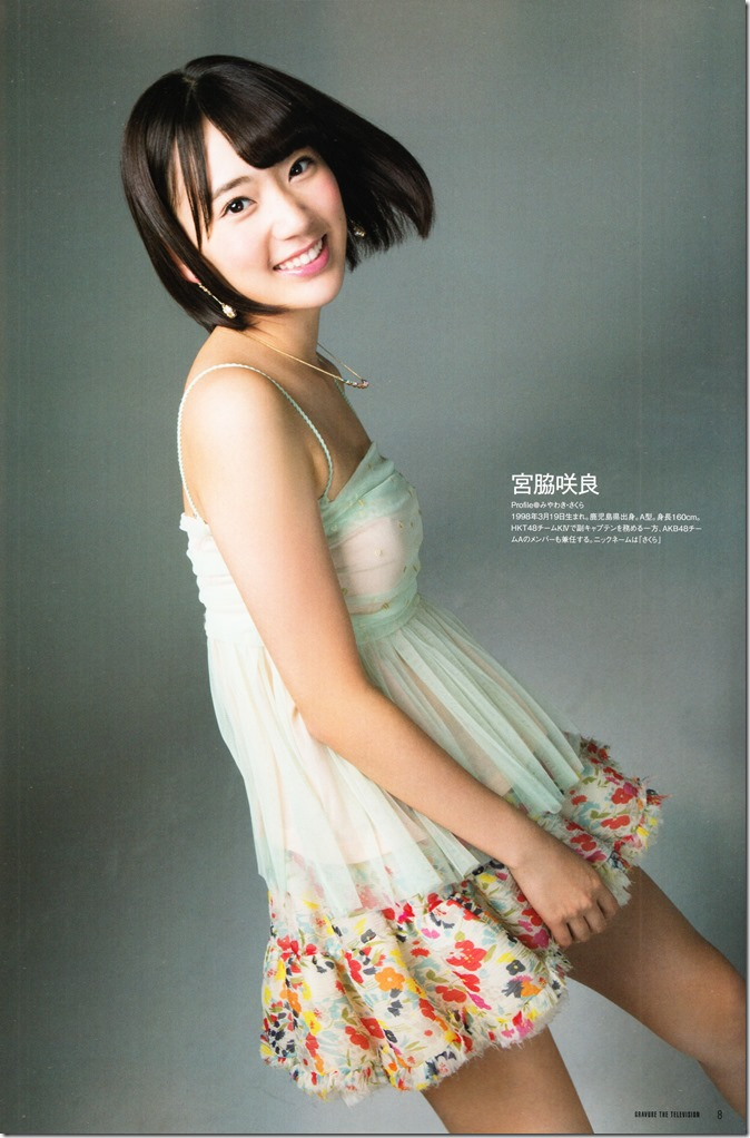 Mayuyu♥ & Sakuran in GRAVURE The Television Vol. 36(11)