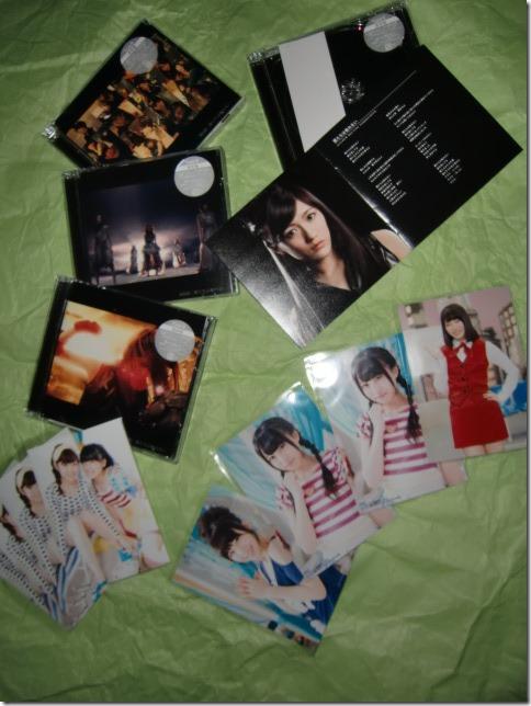 AKB48 Bokutachi wa Tatakawanai singles types A,B,C &D.