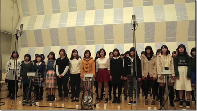 Ohara Sakurako in Minna de utaou HITOMI recording (12)