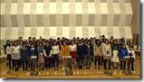 Ohara Sakurako in Minna de utaou HITOMI recording (15)