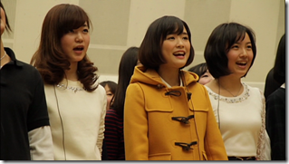 Ohara Sakurako in Minna de utaou HITOMI recording (17)