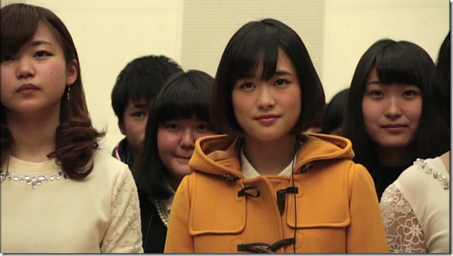 Ohara Sakurako in Minna de utaou HITOMI recording (22)