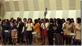 Ohara Sakurako in Minna de utaou HITOMI recording (23)
