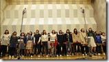 Ohara Sakurako in Minna de utaou HITOMI recording (2)