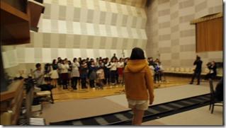 Ohara Sakurako in Minna de utaou HITOMI recording (7)