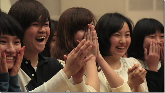 Ohara Sakurako in Minna de utaou HITOMI recording (8)