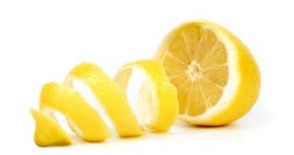 lemon peel...