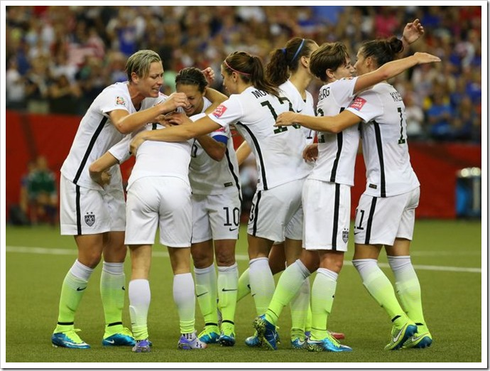 Women's World Cup Semifinal U.S. vs. Germany...