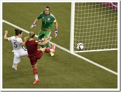 Women's World Cup Semifinal U.S. vs. Germany....
