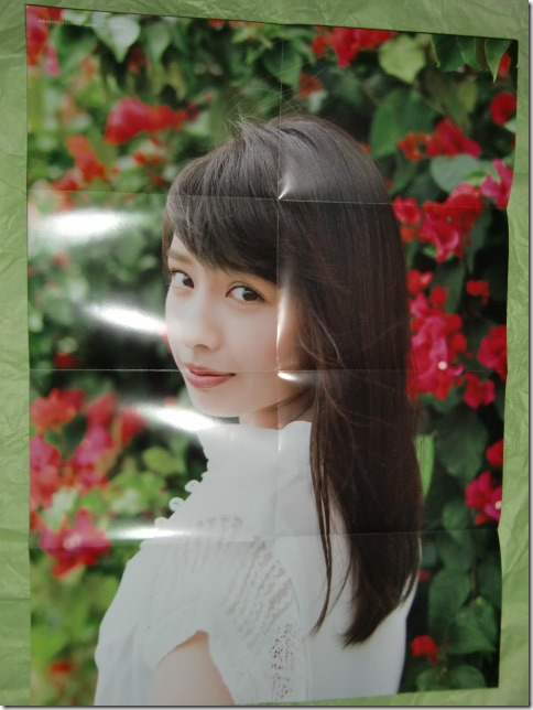Yamada Nana Sotsugyou Memorial Photo Book 4 3=7 poster side A