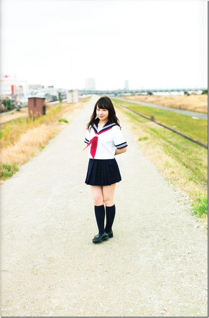 Yamada Nana sotsugyou memorial photo book 4 3=7 shashinshuu (101)