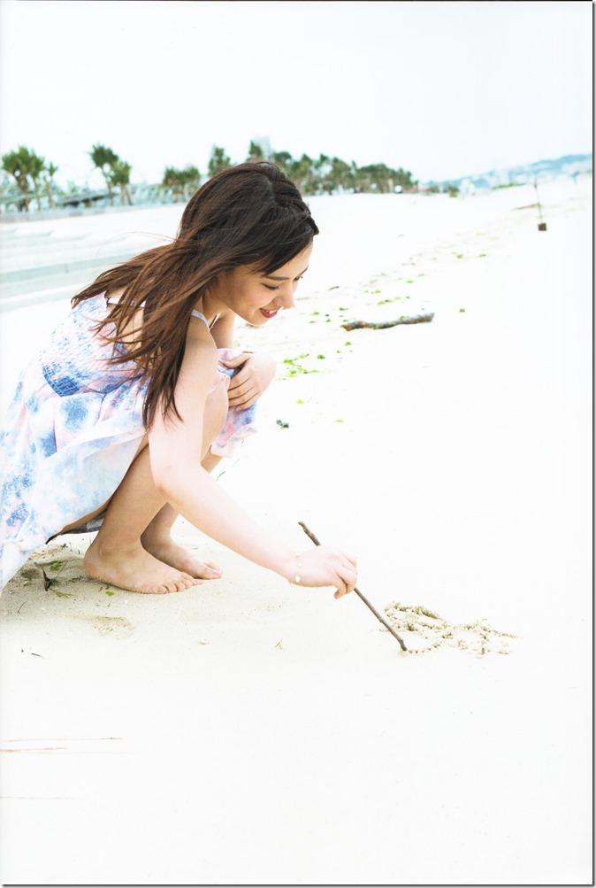 Yamada Nana sotsugyou memorial photo book 4 3=7 shashinshuu (6)