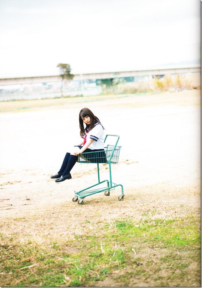 Yamada Nana sotsugyou memorial photo book 4 3=7 shashinshuu (98)