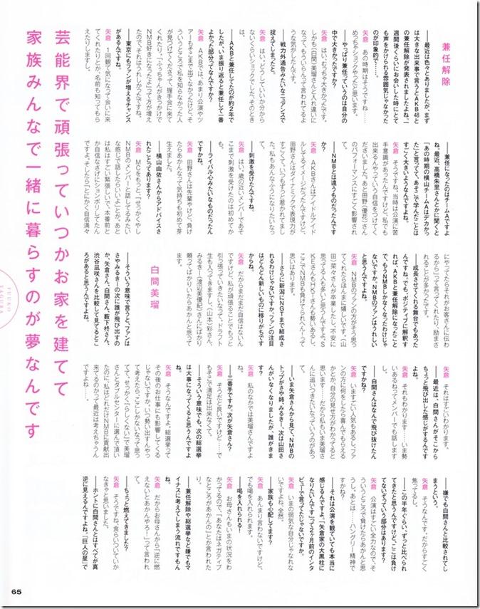 BUBKA July 2015 issue featuring covergirl Miyawaki Sakura (31)