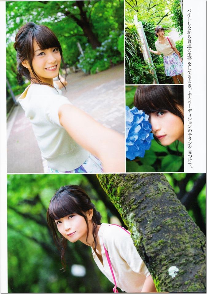 ENTAME August 2015 issue featuring Covergirl Miyawaki Sakura (21)