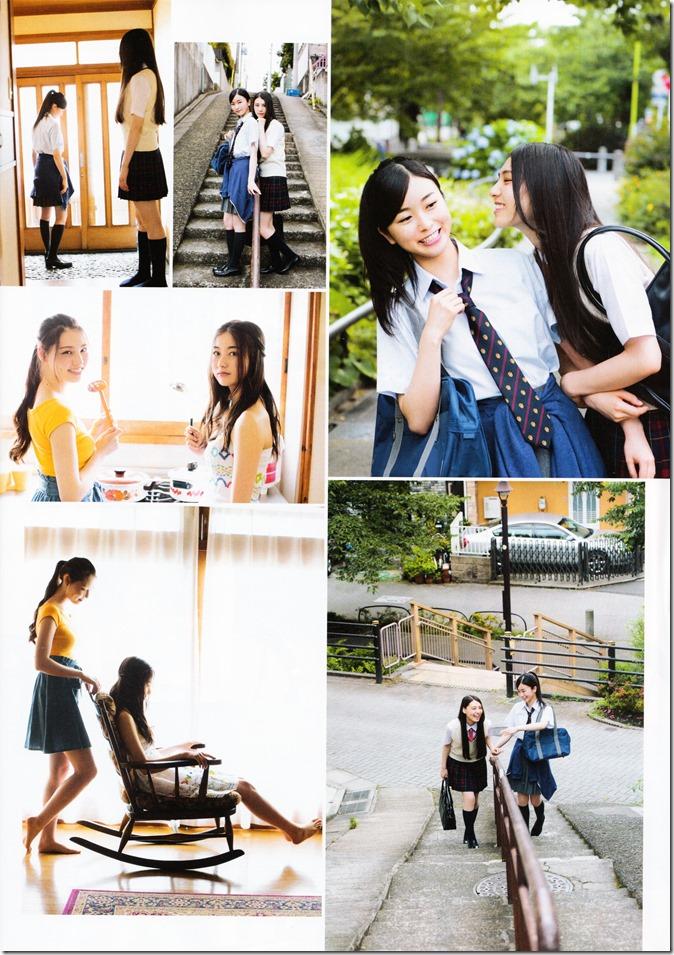 ENTAME August 2015 issue featuring Covergirl Miyawaki Sakura (26)