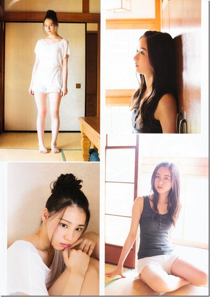 ENTAME August 2015 issue featuring Covergirl Miyawaki Sakura (29)