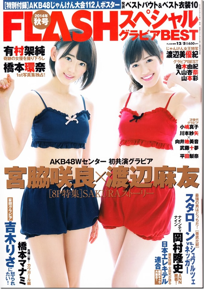 FLASH Special gravure best December 5th, 2014 issue (1)