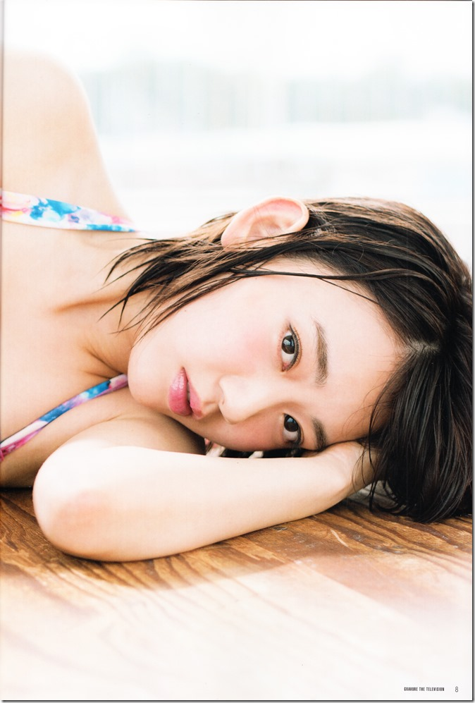 GRAVURE THE TELEVISION Vol.40 June 2nd, 2015 issue featuring Covergirl Miyawaki Sakura (10)