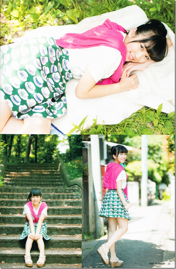GRAVURE THE TELEVISION Vol.40 June 2nd, 2015 issue featuring Covergirl Miyawaki Sakura (28)