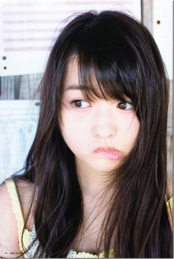 GRAVURE THE TELEVISION Vol.40 June 2nd, 2015 issue featuring Covergirl Miyawaki Sakura (39)