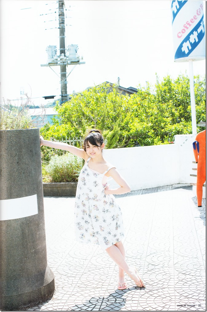 GRAVURE THE TELEVISION Vol.40 June 2nd, 2015 issue featuring Covergirl Miyawaki Sakura (40)
