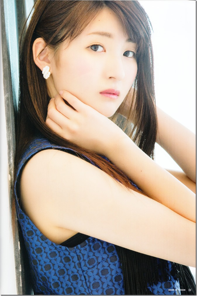 GRAVURE THE TELEVISION Vol.40 June 2nd, 2015 issue featuring Covergirl Miyawaki Sakura (44)