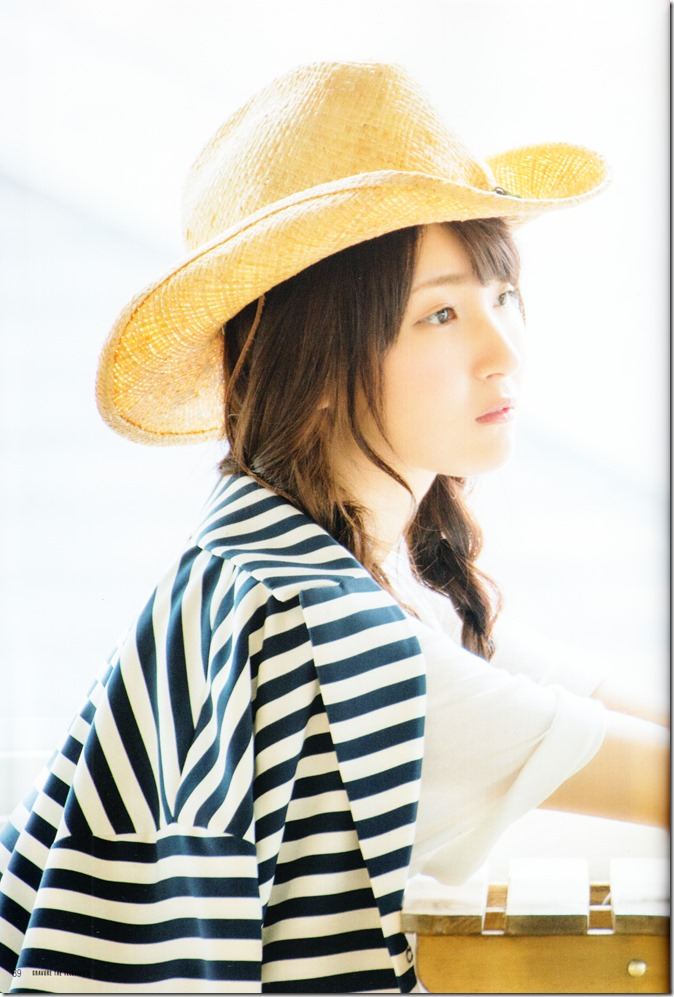 GRAVURE THE TELEVISION Vol.40 June 2nd, 2015 issue featuring Covergirl Miyawaki Sakura (49)