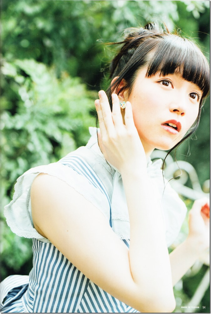 GRAVURE THE TELEVISION Vol.40 June 2nd, 2015 issue featuring Covergirl Miyawaki Sakura (54)