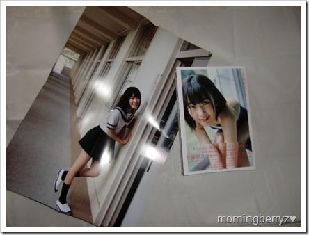 Miyawaki Sakura first shashinshuu SAKURA with two~sided poster
