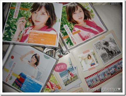 Ohara Sakurako Manatsu no Taiyou single types A & B with photo booklet