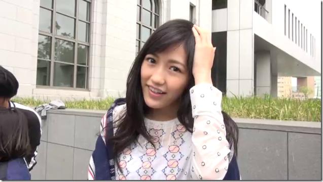 Watanabe Mayu in Deai no tsuzuki making.. (2)