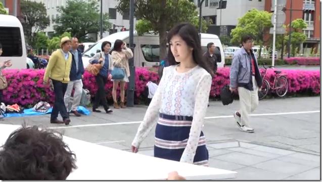 Watanabe Mayu in Deai no tsuzuki making.. (5)