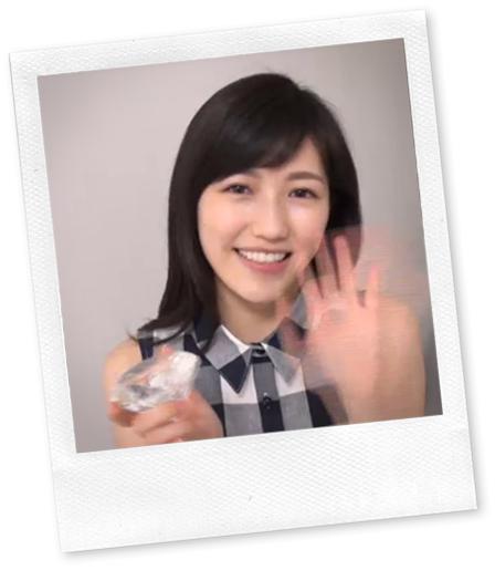 Watanabe Mayu in Deai no tsuzuki making.. bye bye!~!