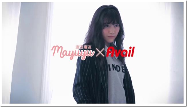 Watanabe Mayu in Onnanoko nara Avail special version.. (1)