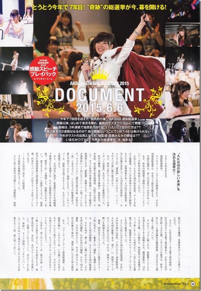 AKB48 Mizugi Surprise Announcement 2015 mook (128)