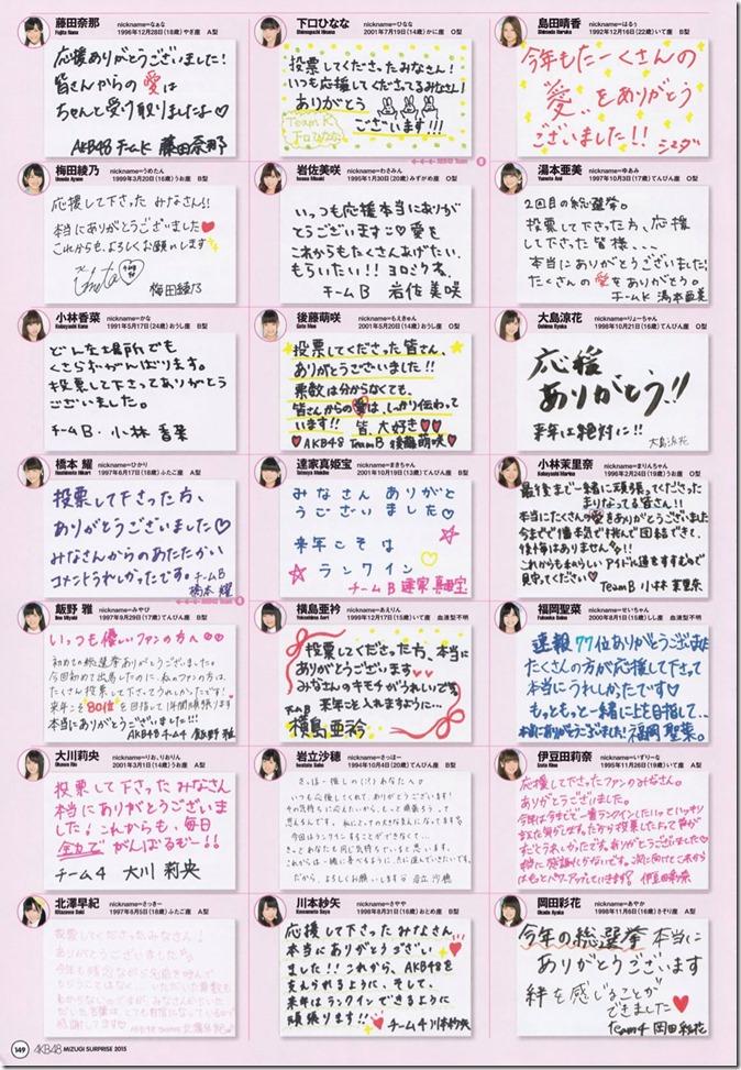 AKB48 Mizugi Surprise Announcement 2015 mook (145)