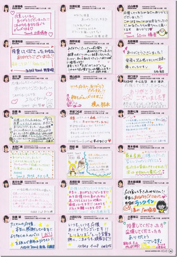 AKB48 Mizugi Surprise Announcement 2015 mook (146)