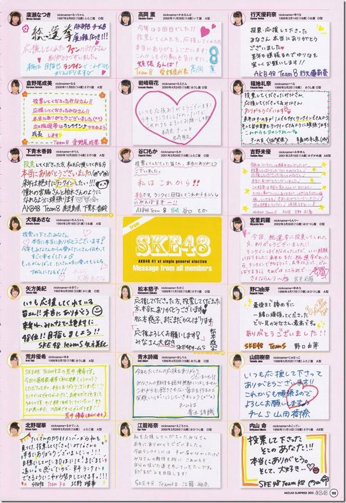 AKB48 Mizugi Surprise Announcement 2015 mook (148)