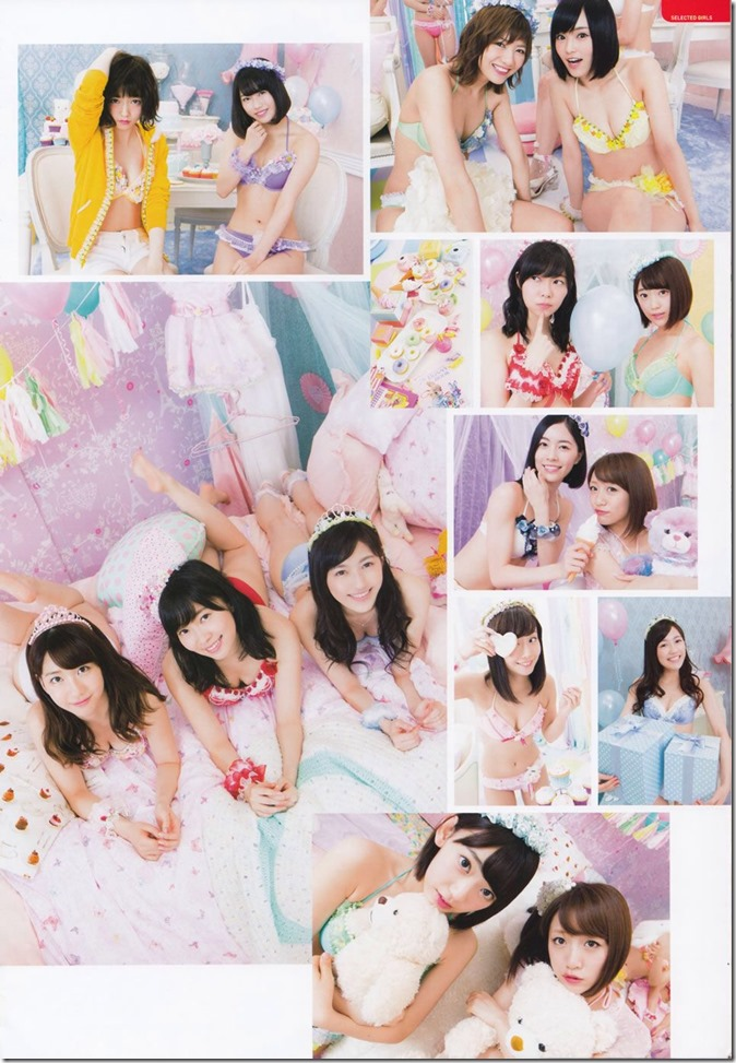AKB48 Mizugi Surprise Announcement 2015 mook (14)