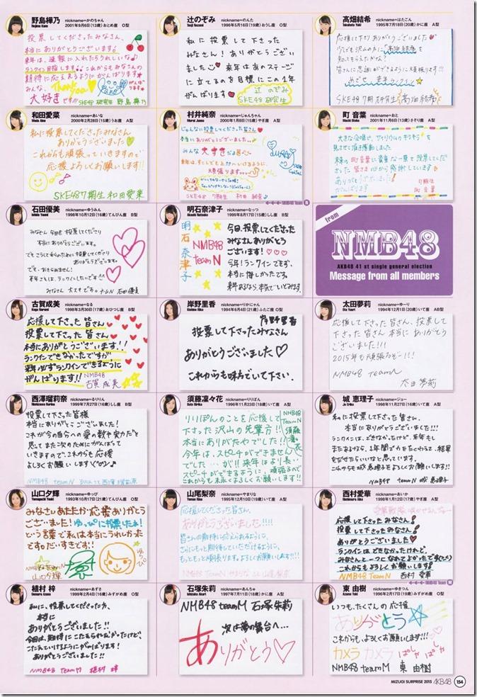 AKB48 Mizugi Surprise Announcement 2015 mook (150)