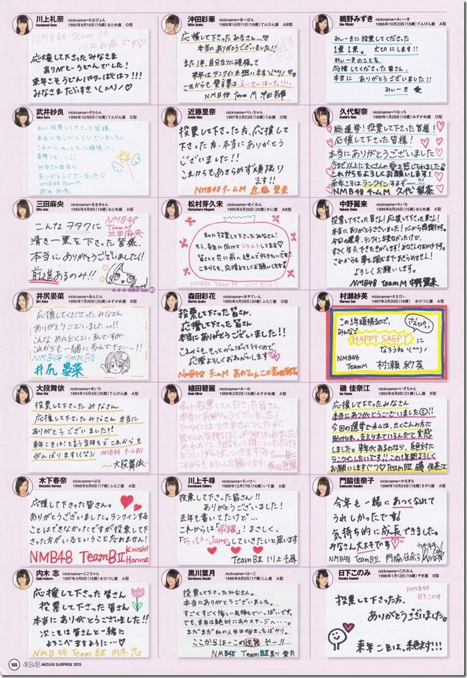 AKB48 Mizugi Surprise Announcement 2015 mook (151)