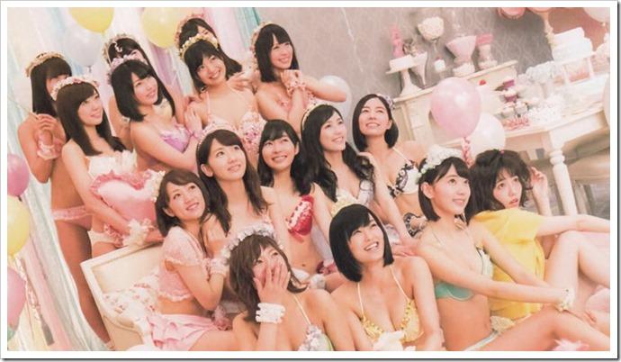 AKB48 Mizugi Surprise Announcement 2015 mook