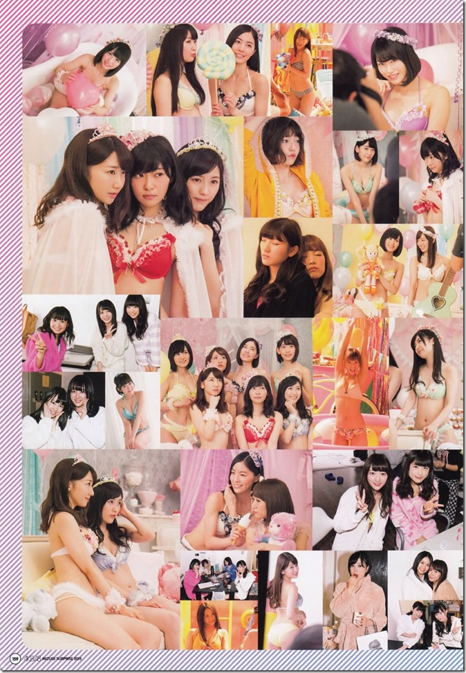 AKB48 Mizugi Surprise Announcement 2015 mook (155)