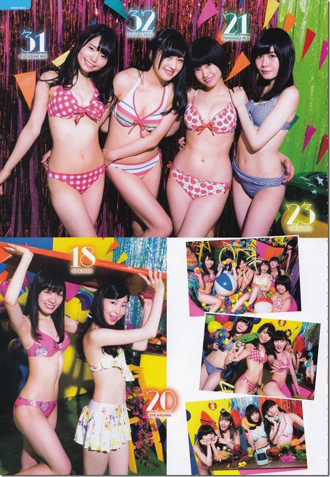 AKB48 Mizugi Surprise Announcement 2015 mook (57)