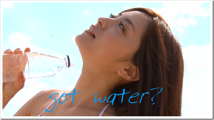 got water